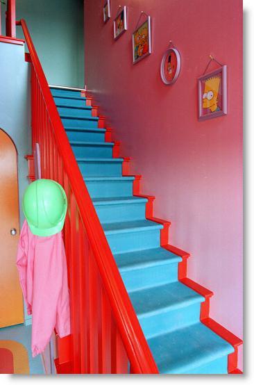La casa de los simpson de verdad - La casa de los cuadros ...