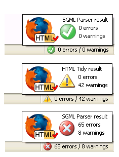 firefox-html-validator