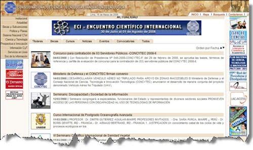 Consejo Nacional de Ciencia, tecnologia