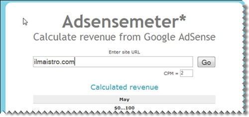 adsensemeter - calcula las ganancias en adsense de otros blogs