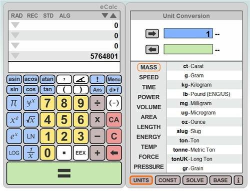 ecalc-calculadora-online