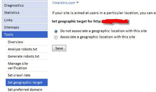 google-set-geo-target