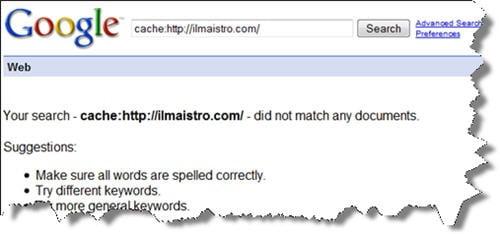 ilmaistro-google-cache