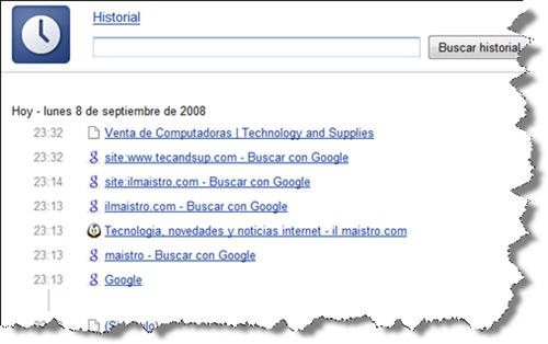 google-chrome-historial