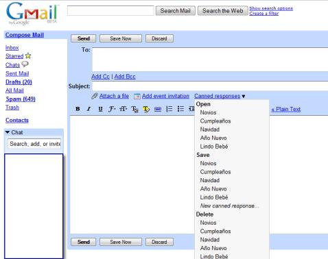 gmailcannedresponses