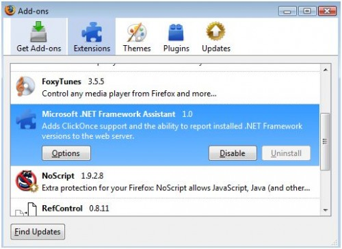 firefox-net-framework-extension