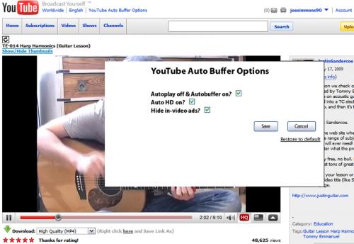 youtube-autobuffer