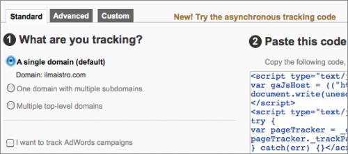 analytics-new-tracking-code