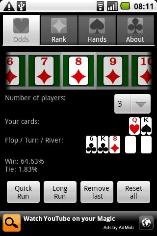 Poker-Assistandroid