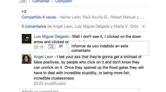 google-plus-denunciar