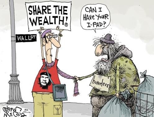 compartir la riqueza