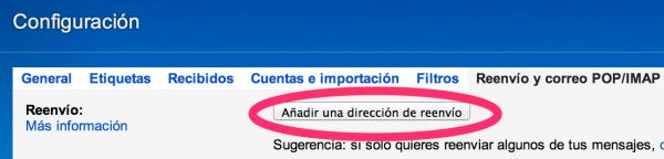 gmail-opciones-reenvio