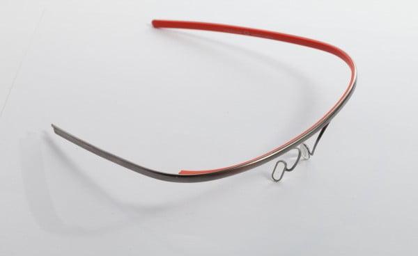 Armazón de titanio de Google Glass