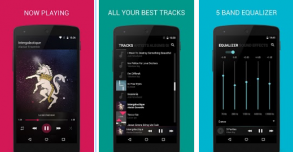 blackplayer music player android
