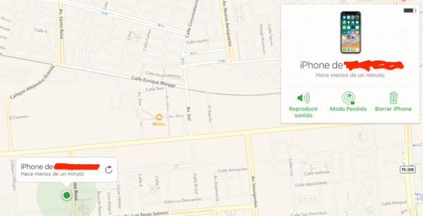 opciones buscar iphone