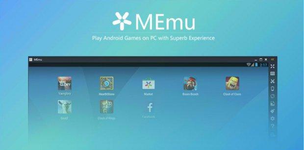 Emulador MEmu de Android para PC