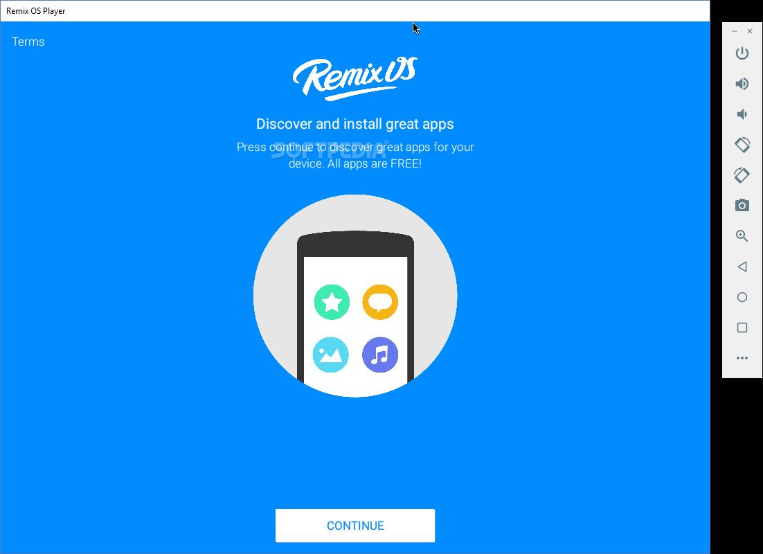Emulador Remix OS Player de Android para PC