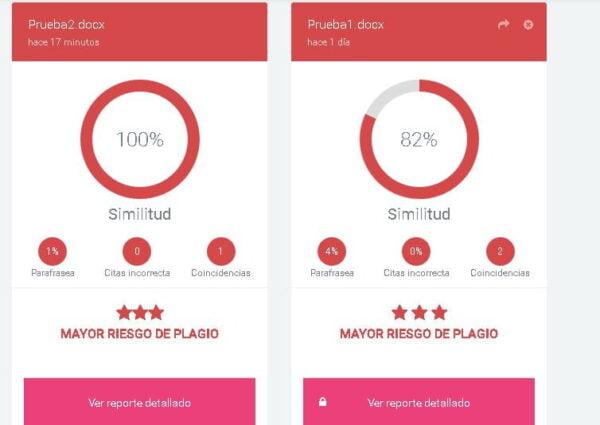 detector de plagio gratis Plag.es