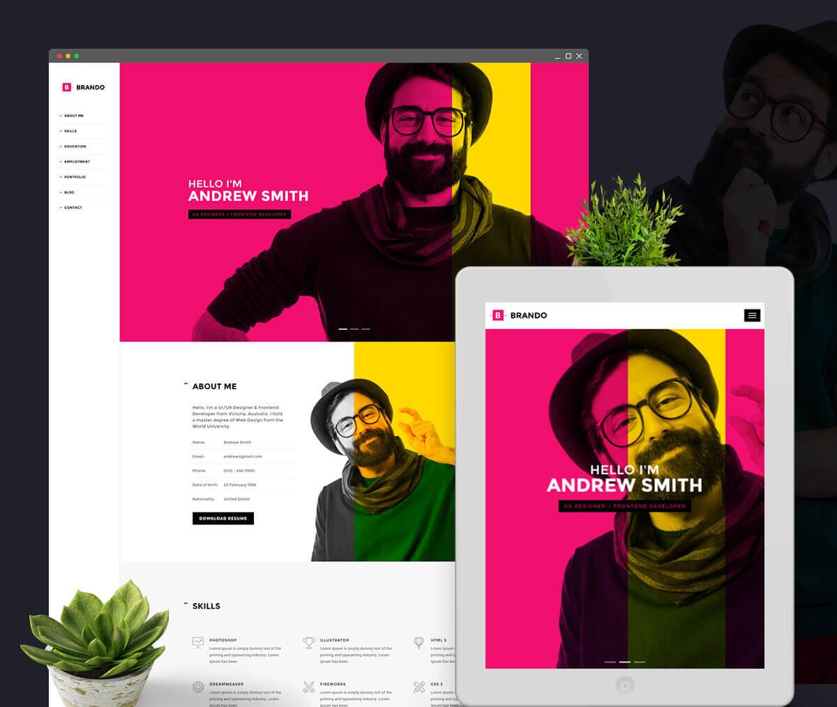 mejores-plantillas-wordpress-cv-online-7-1