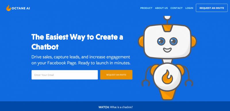 Octane Ai chatbot para empresas