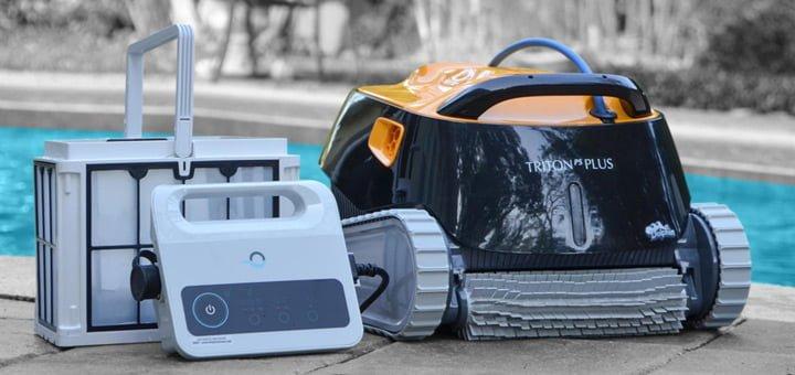 robot-limpiafondos-piscina-Maytronics-Dolphin-Triton-Plus